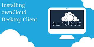 Installing ownCloud Desktop Client