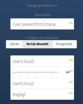 ownCloud on Docker + CentOS 7 - Canadian Cloud Infrastructure